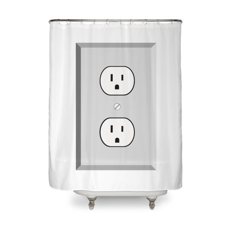 let me out. Home Shower Curtain by pictrola graphics