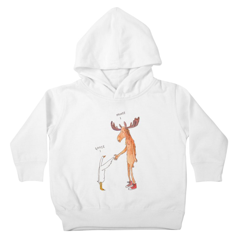 Goose Moose Kids Toddler Pullover Hoody by pieceofka's Artist Shop