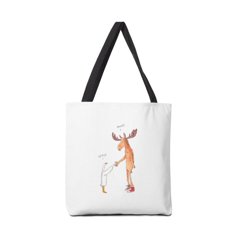 Goose Moose Accessories Bag by pieceofka's Artist Shop