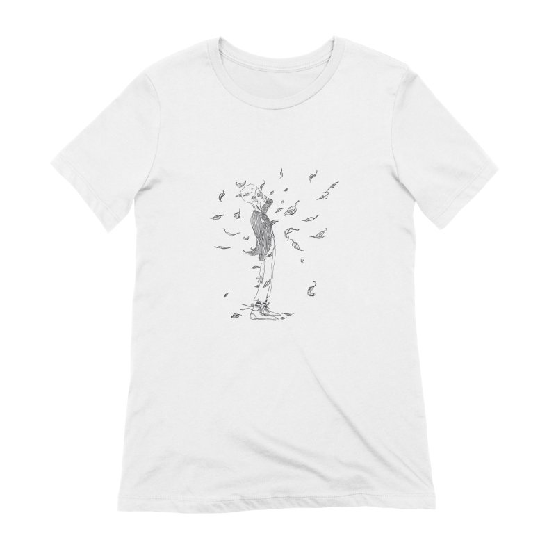 Easy breezy Women's T-Shirt by pieceofka's Artist Shop