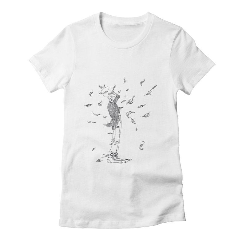 Easy breezy Women's T-Shirt by pieceofka's Artist Shop
