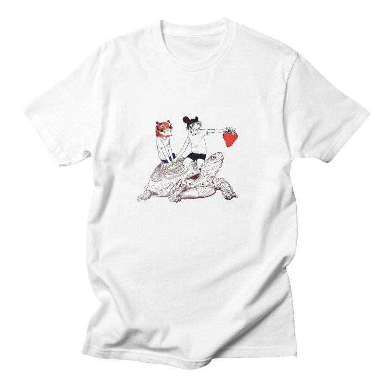 Strawberry Men's T-Shirt by pieceofka's Artist Shop