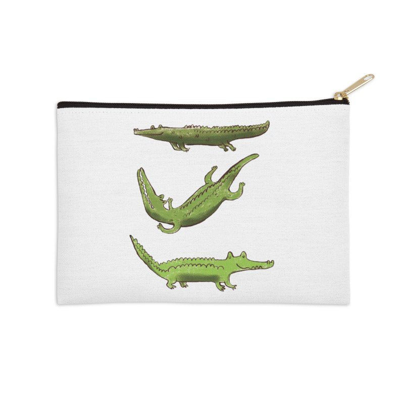 What's up Croc? Accessories Zip Pouch by pieceofka's Artist Shop