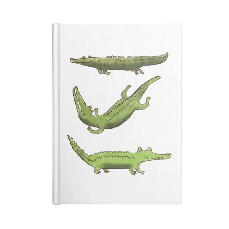 What's up Croc? Accessories Notebook by pieceofka's Artist Shop