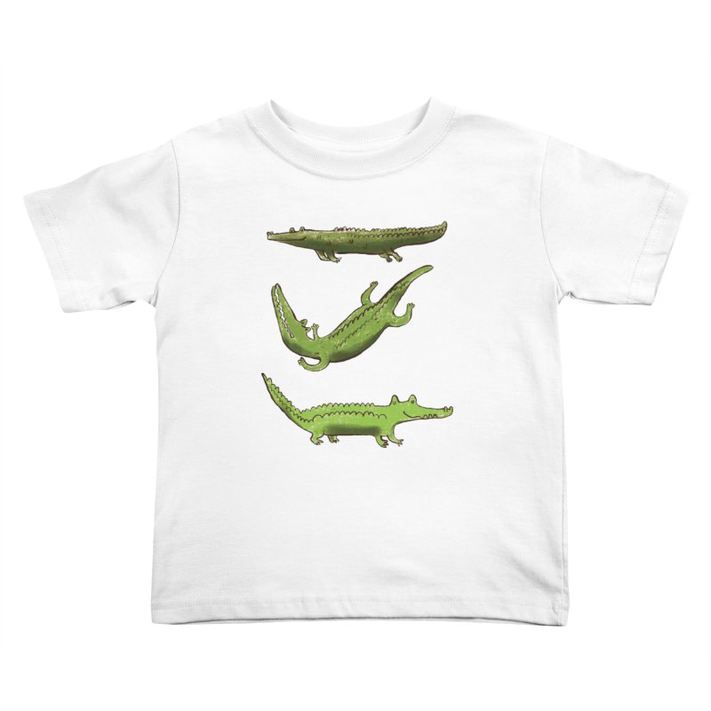 What's up Croc? Kids Toddler T-Shirt by pieceofka's Artist Shop