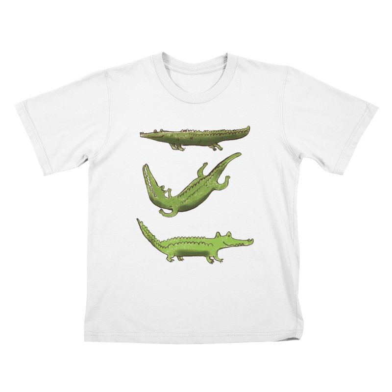 What's up Croc? Kids T-Shirt by pieceofka's Artist Shop