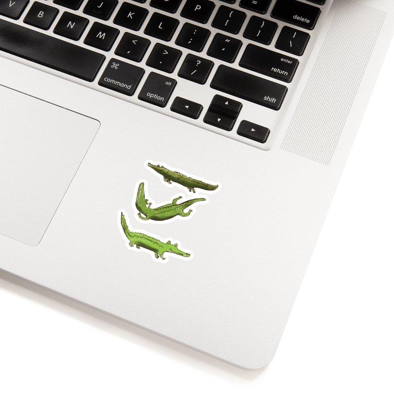 What's up Croc? Accessories Sticker by pieceofka's Artist Shop