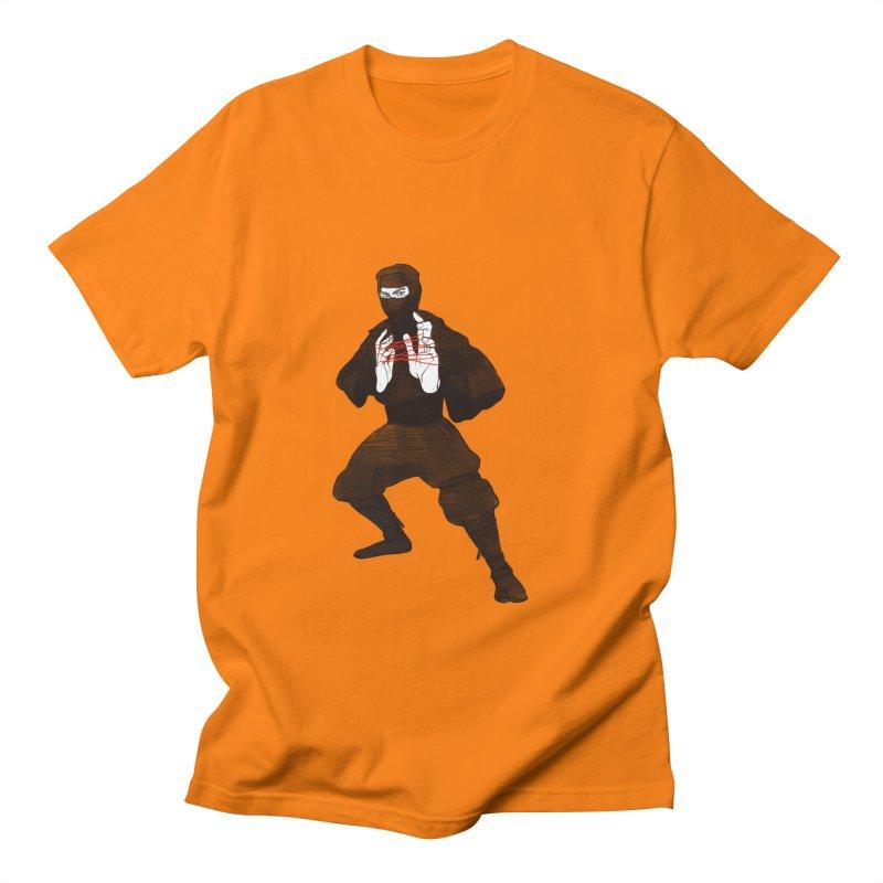 Cats Ninja Cradle Men's T-Shirt by pieceofka's Artist Shop