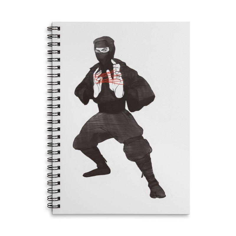 Cats Ninja Cradle Accessories Notebook by pieceofka's Artist Shop