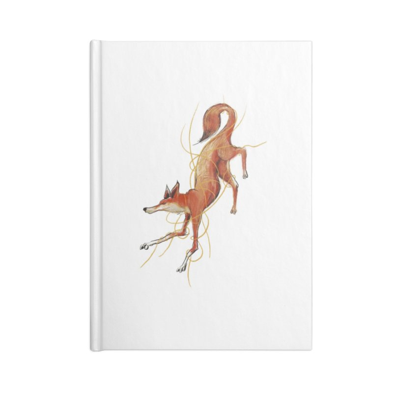 Tangled Fox Accessories Notebook by pieceofka's Artist Shop