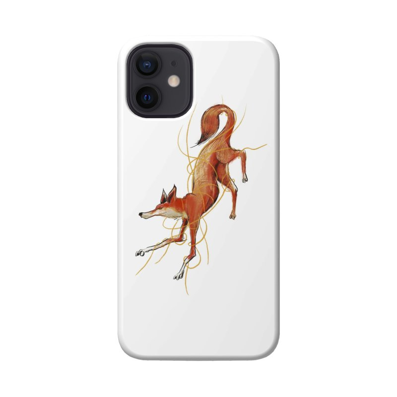 Tangled Fox Accessories Phone Case by pieceofka's Artist Shop