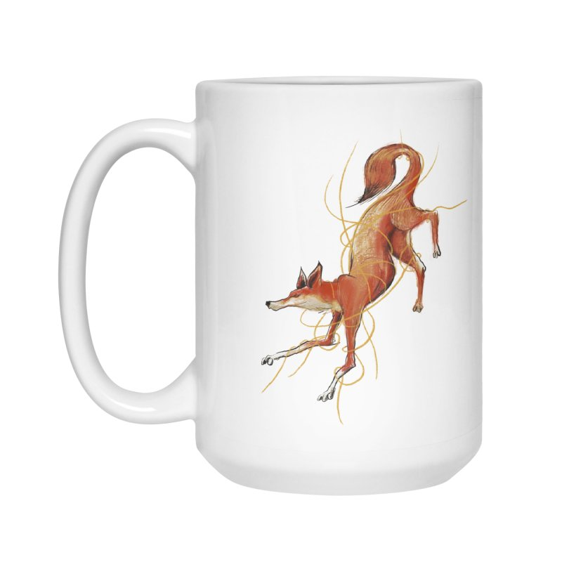 Tangled Fox Accessories Mug by pieceofka's Artist Shop