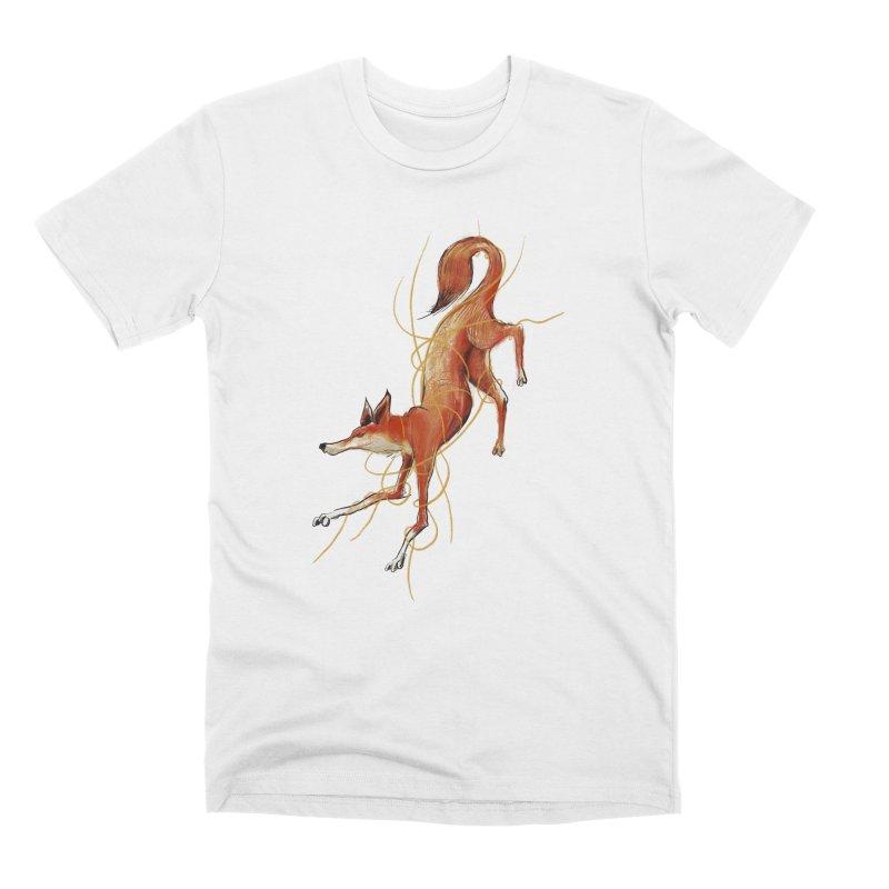 Tangled Fox Men's T-Shirt by pieceofka's Artist Shop