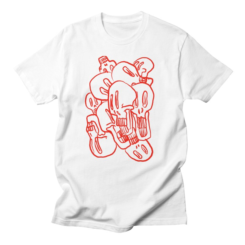 Skullz Men's T-Shirt by pieceofka's Artist Shop