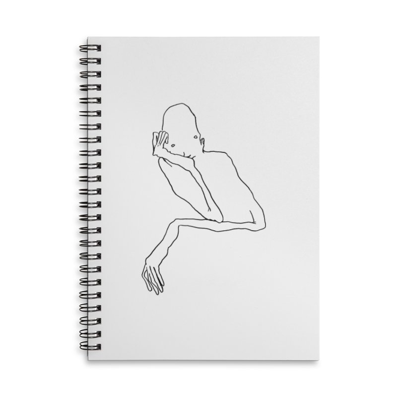 Hold on I'm thinking Accessories Notebook by pieceofka's Artist Shop