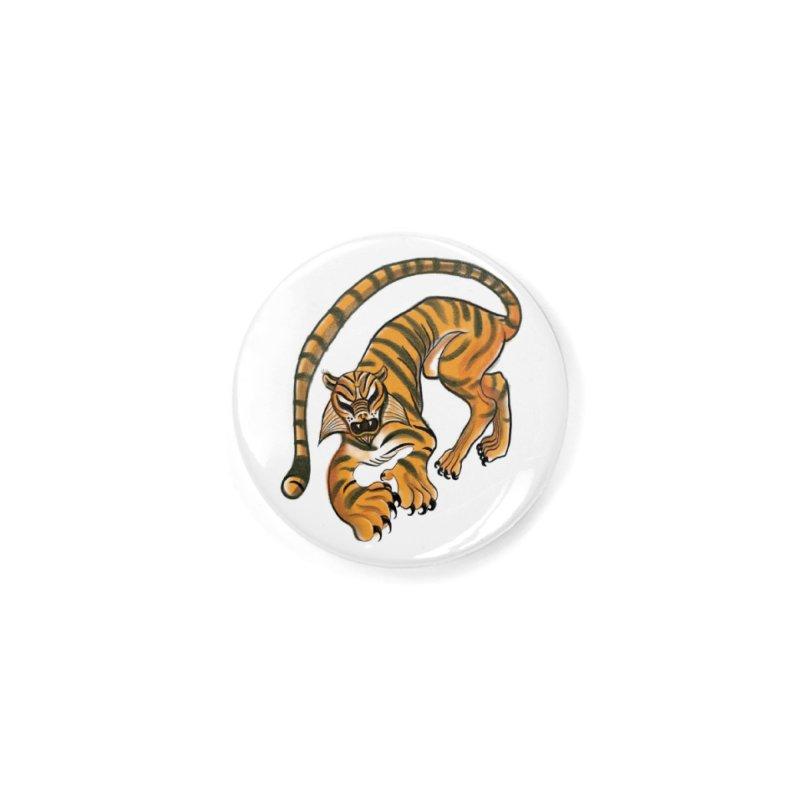 Tiger Accessories Button by pieceofka's Artist Shop