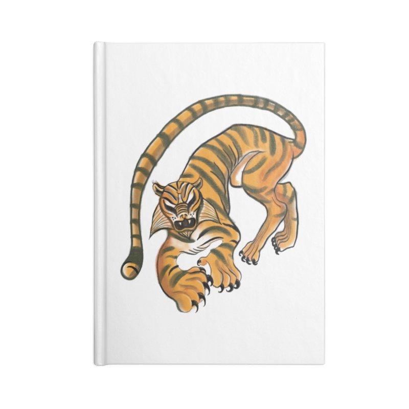 Tiger Accessories Notebook by pieceofka's Artist Shop