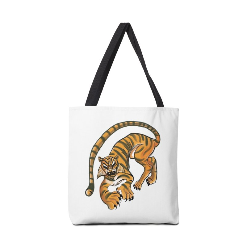 Tiger Accessories Bag by pieceofka's Artist Shop