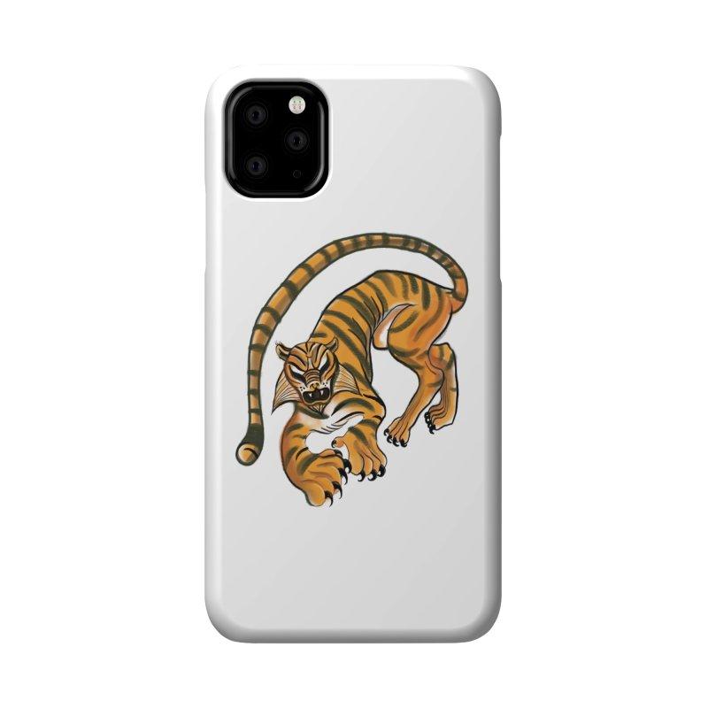 Tiger Accessories Phone Case by pieceofka's Artist Shop