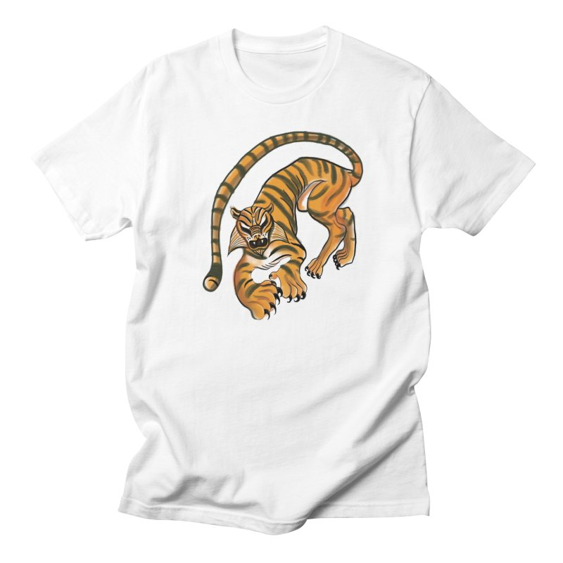 Tiger Men's T-Shirt by pieceofka's Artist Shop