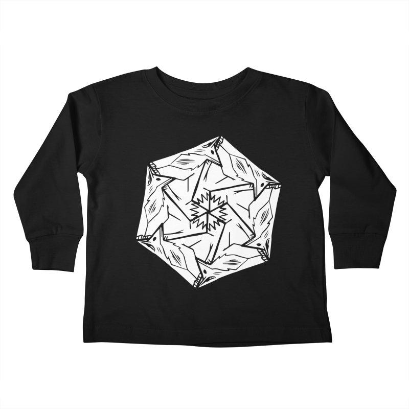 Lots of Fox Kids Toddler Longsleeve T-Shirt by pieceofka's Artist Shop
