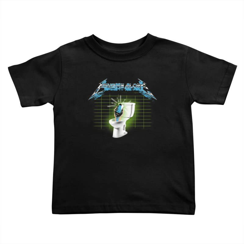 Leave Me Alone Kids Toddler T-Shirt by pierrebarbeyto's Artist Shop