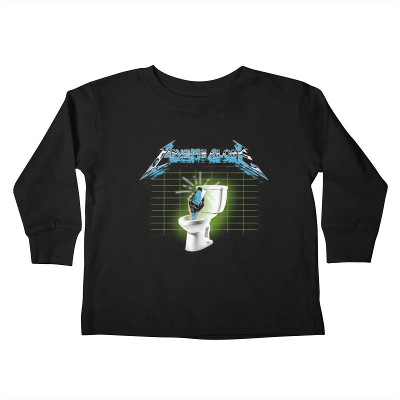 Leave Me Alone Kids Toddler Longsleeve T-Shirt by pierrebarbeyto's Artist Shop