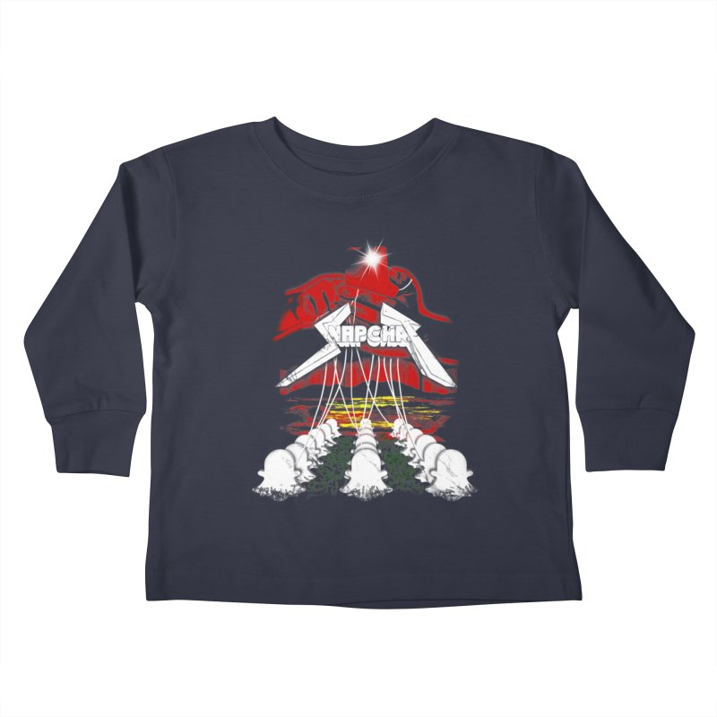 Master Of Snapchat Kids Toddler Longsleeve T-Shirt by pierrebarbeyto's Artist Shop