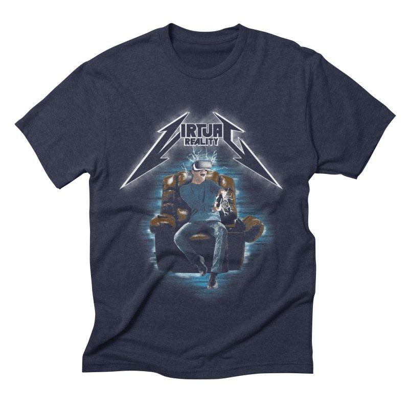 Virtual Reality Men's Triblend T-shirt by pierrebarbeyto's Artist Shop