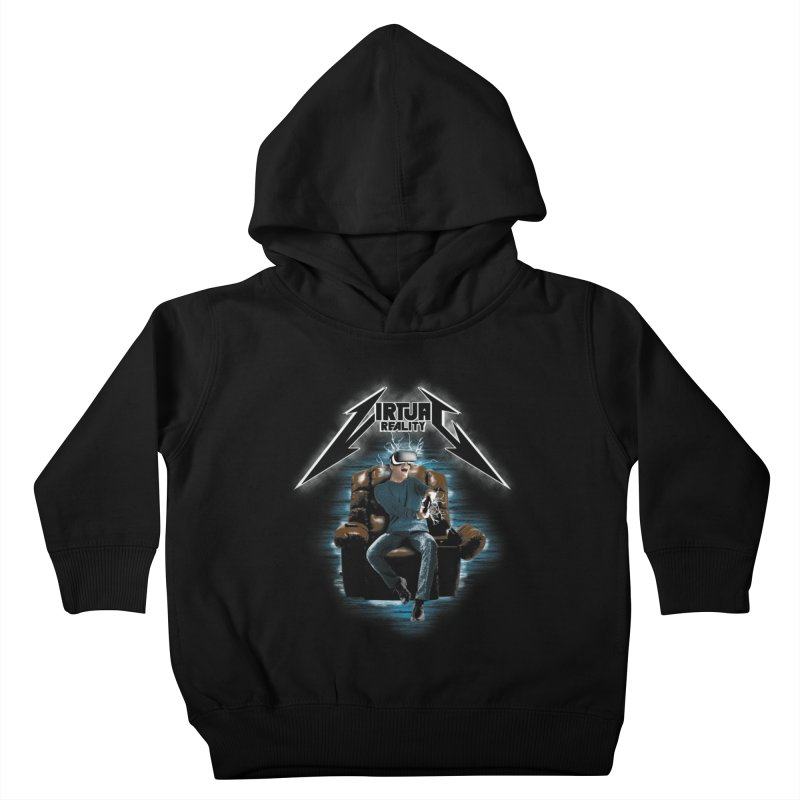 Virtual Reality Kids Toddler Pullover Hoody by pierrebarbeyto's Artist Shop