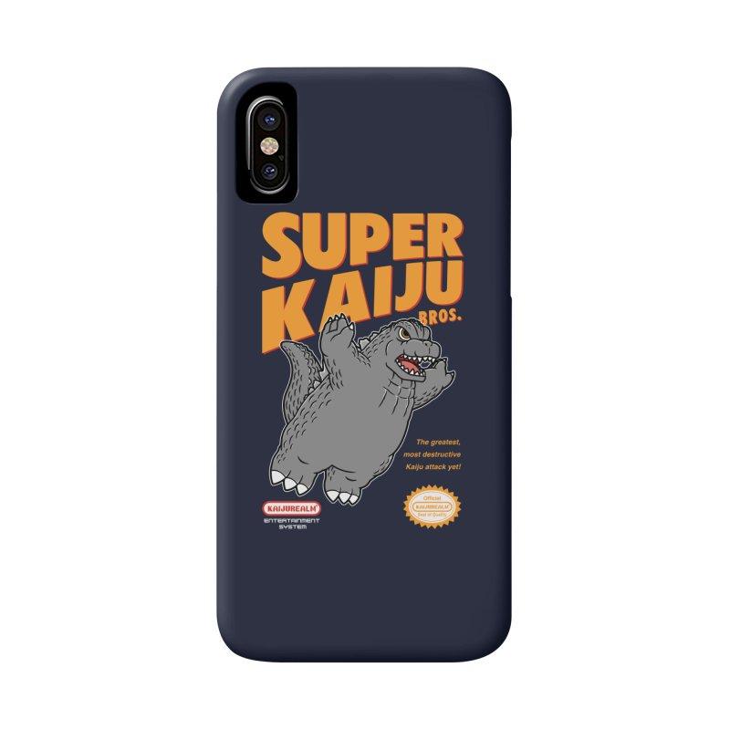 Super Kaiju Bros. Accessories Phone Case by Pigboom's Artist Shop