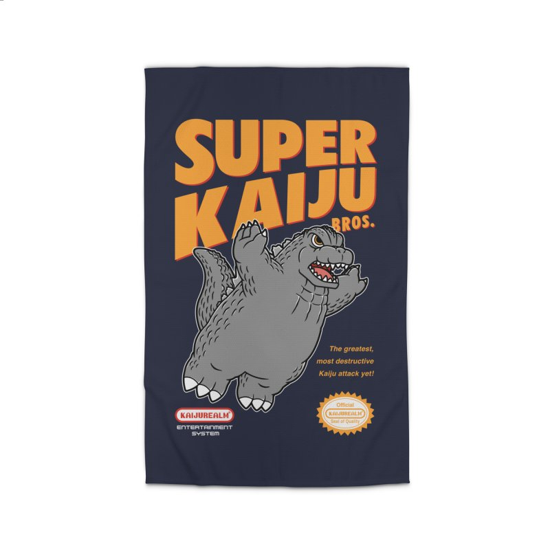Super Kaiju Bros. Home Rug by Pigboom's Artist Shop