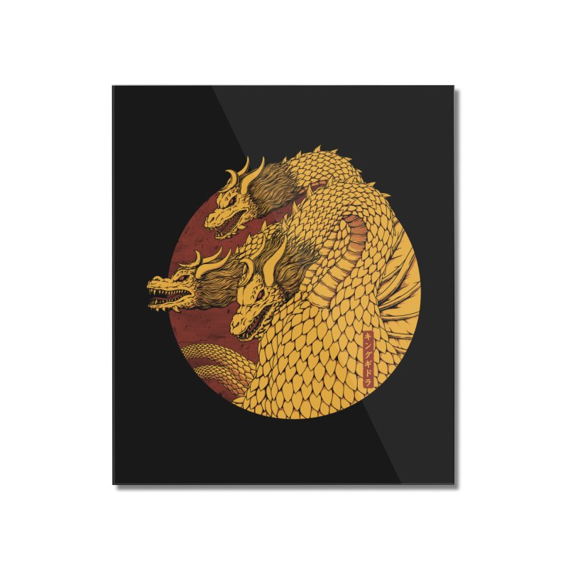 Tokyo Kaiju Zero Home Mounted Acrylic Print by Pigboom's Artist Shop