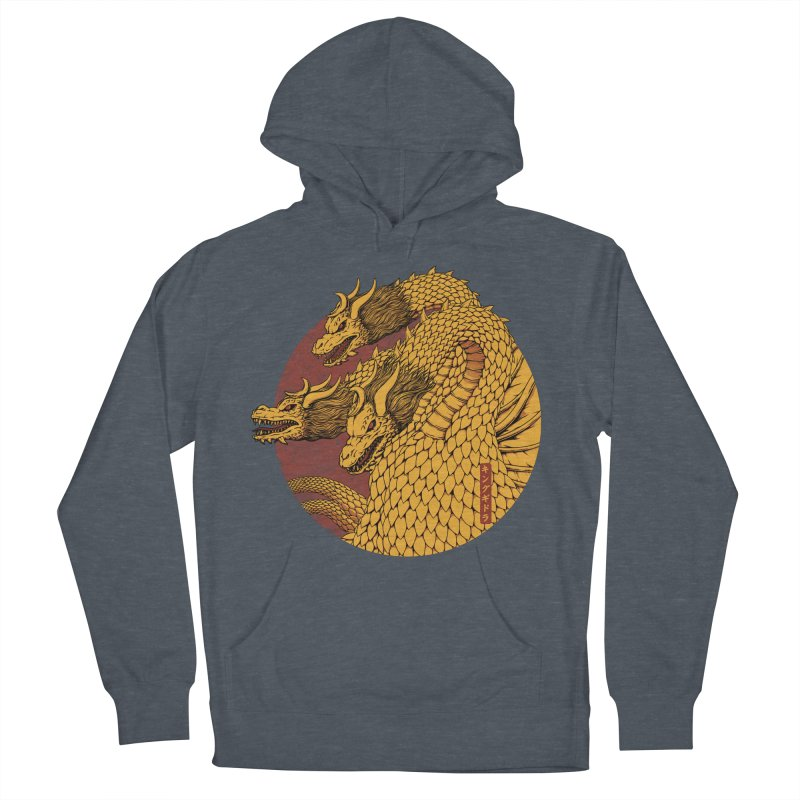 Tokyo Kaiju Zero Men's French Terry Pullover Hoody by Pigboom's Artist Shop