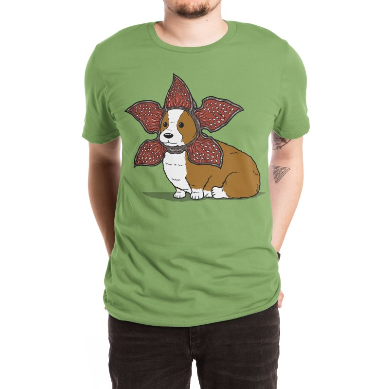 Democorgi Men's T-Shirt by Pigboom's Artist Shop