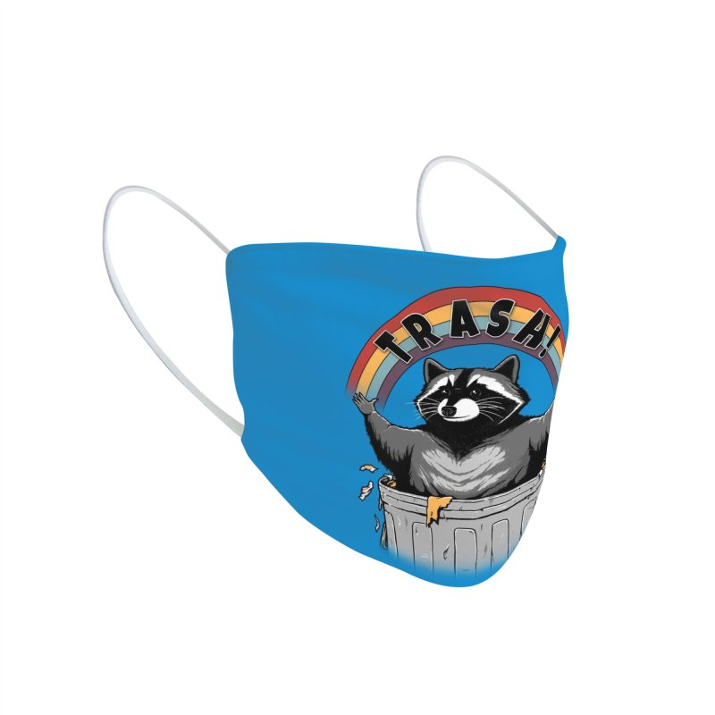 As long as we have Trash! Accessories Face Mask by Pigboom's Artist Shop