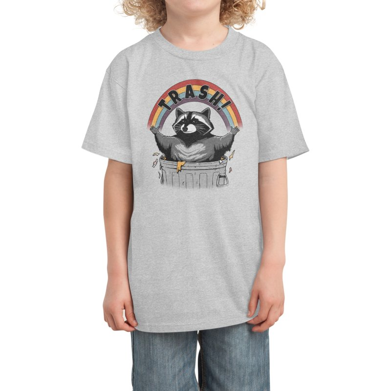 As long as we have Trash! Kids T-Shirt by Pigboom's Artist Shop