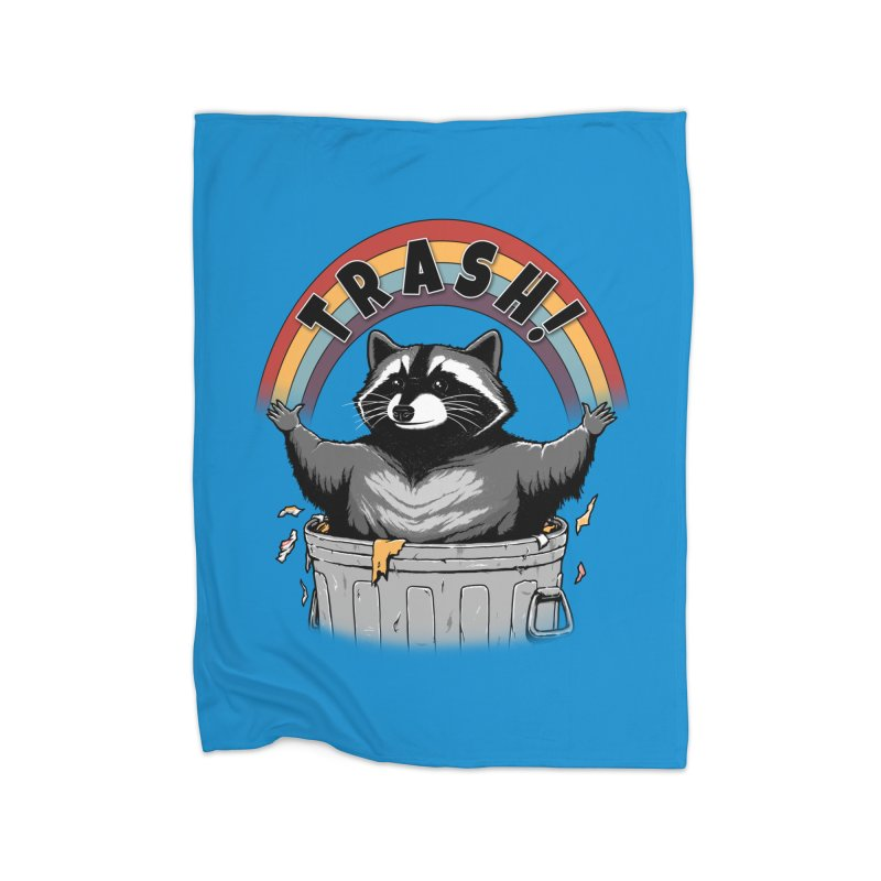 As long as we have Trash! Home Blanket by Pigboom's Artist Shop