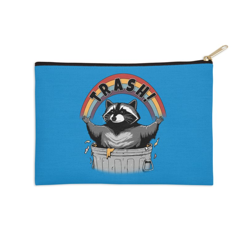 As long as we have Trash! Accessories Zip Pouch by Pigboom's Artist Shop