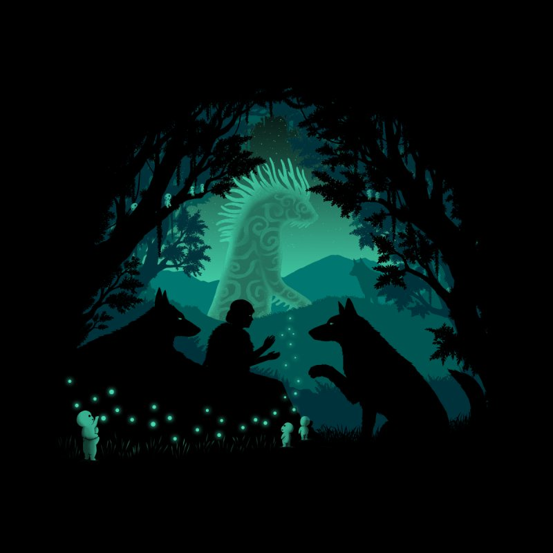 Forest Dwellers None  by Pigboom's Artist Shop