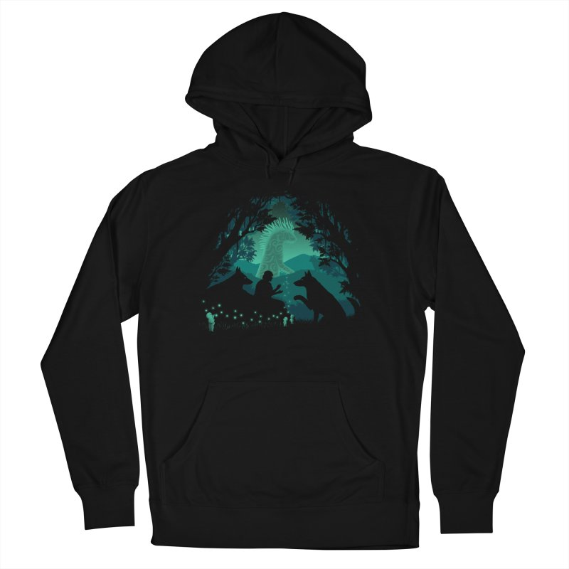 Forest Dwellers Men's Pullover Hoody by Pigboom's Artist Shop