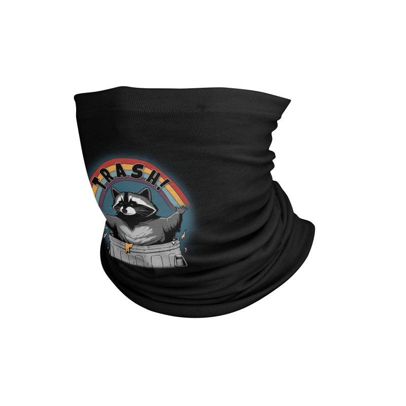Trash! - Black Version Accessories Neck Gaiter by Pigboom's Artist Shop