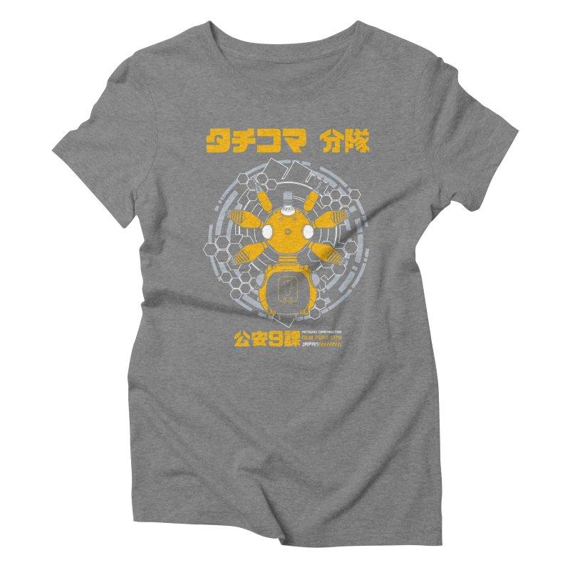 Tachi-Yellow Squad Women's Triblend T-shirt by Pigboom's Artist Shop