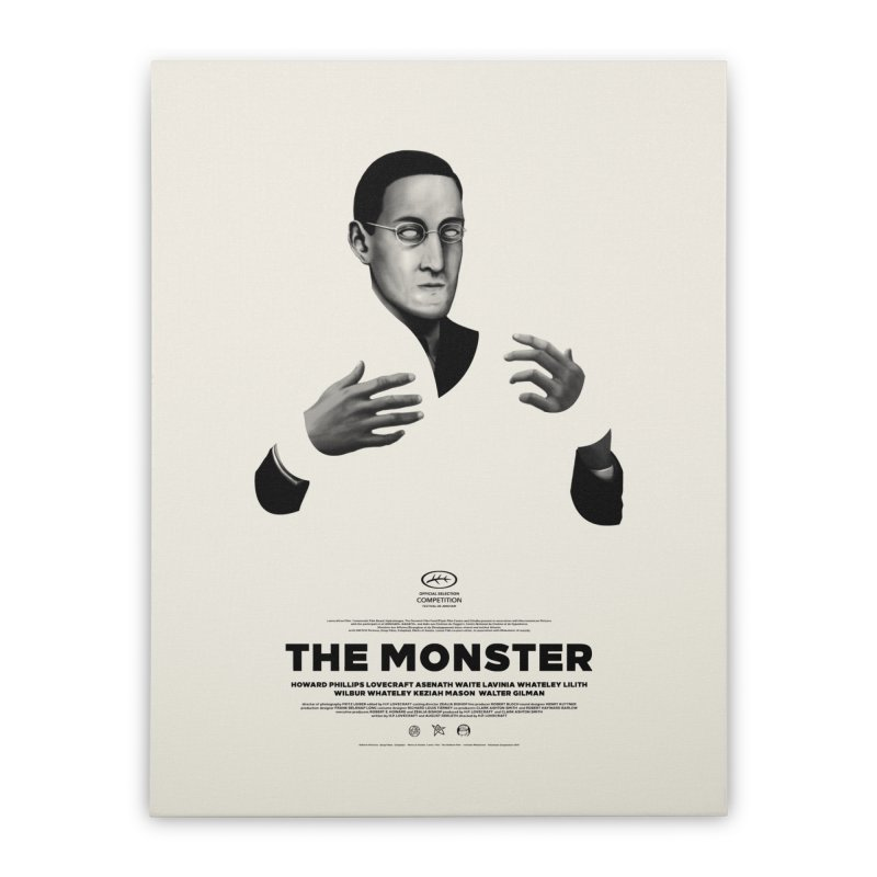 The Monster Home Stretched Canvas by Pigboom's Artist Shop