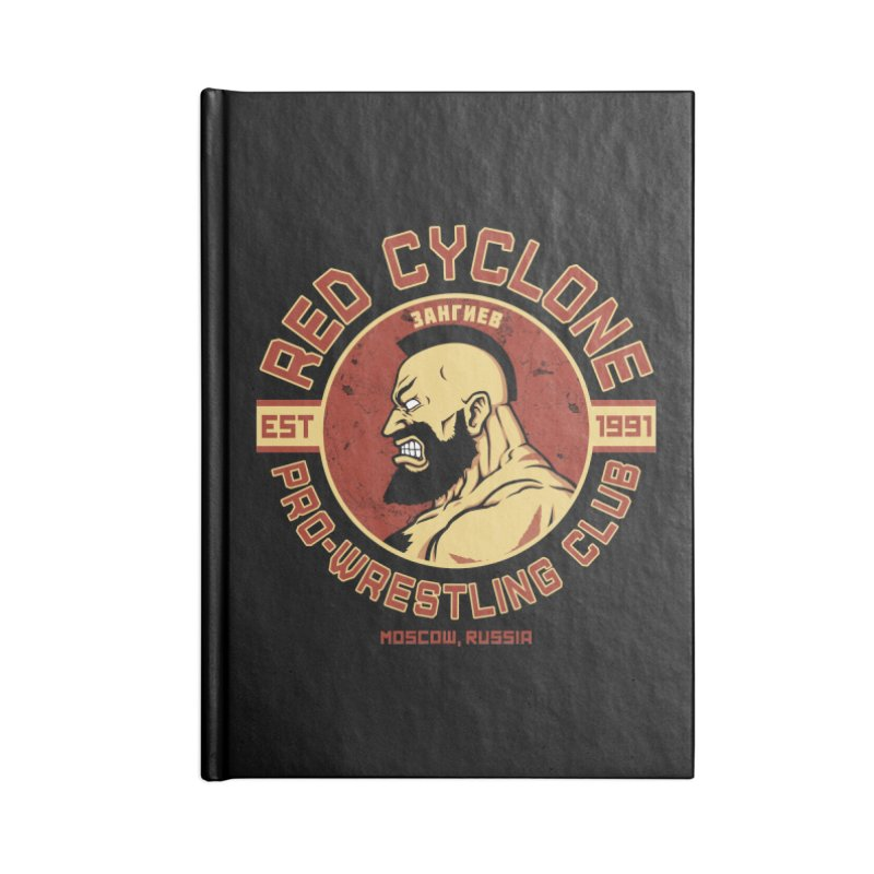 Pro-Wrestling Club Accessories Notebook by Pigboom's Artist Shop