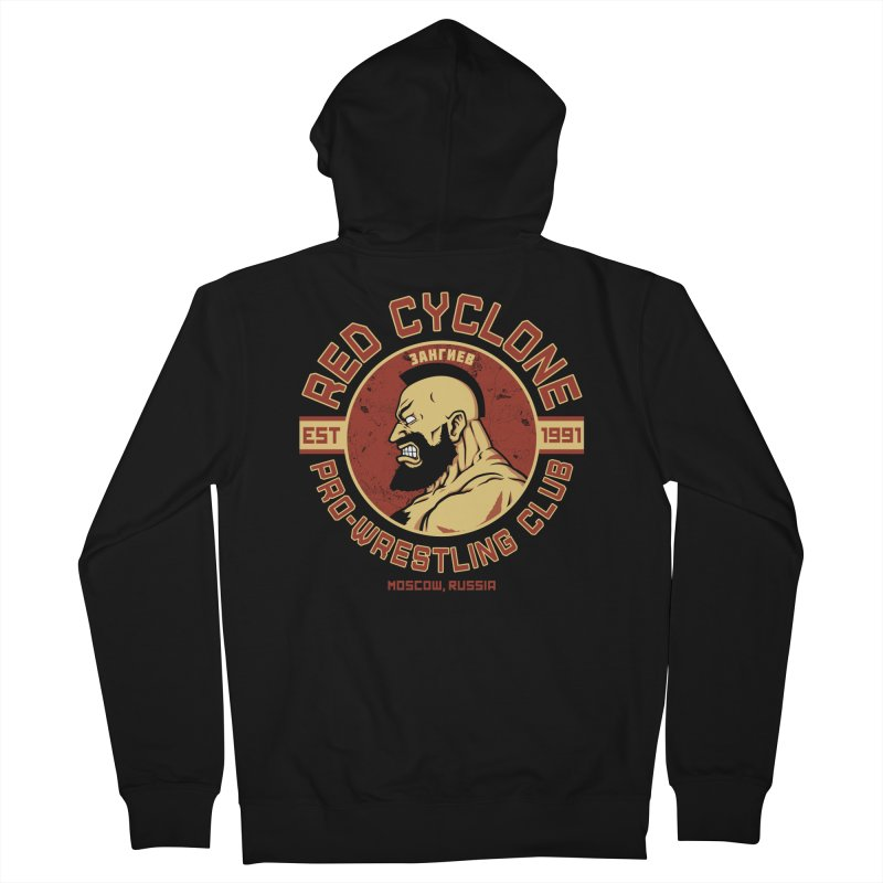 Pro-Wrestling Club Men's Zip-Up Hoody by Pigboom's Artist Shop