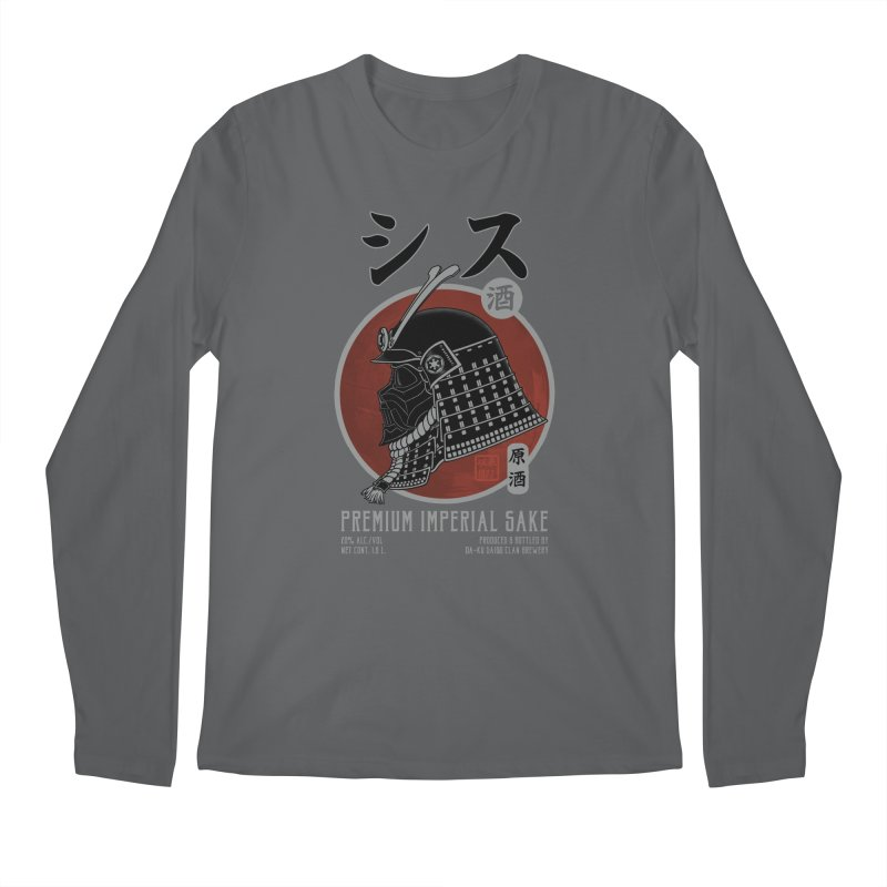 Premium Imperial Sake Men's Longsleeve T-Shirt by Pigboom's Artist Shop