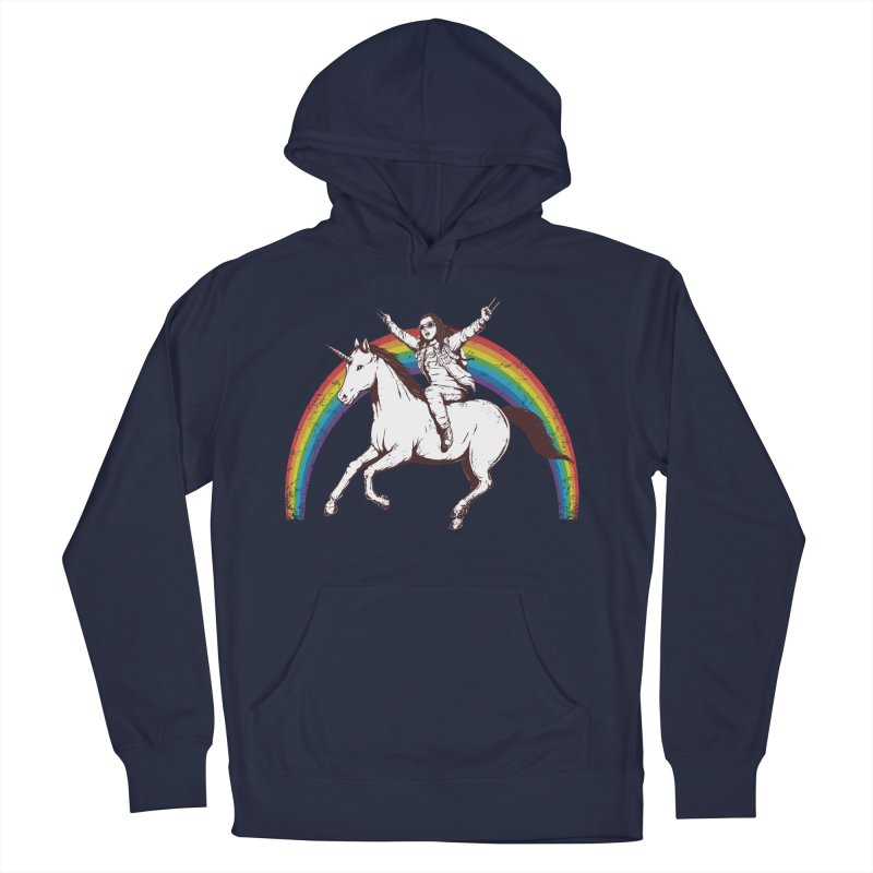 X-treme Unicorn Ride Women's Pullover Hoody by Pigboom's Artist Shop