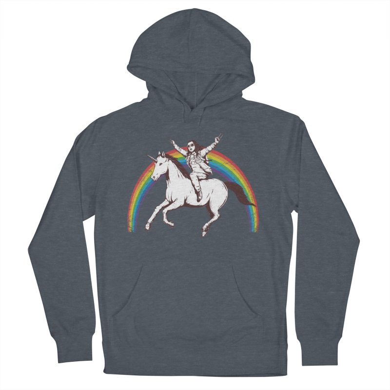 X-treme Unicorn Ride Men's Pullover Hoody by Pigboom's Artist Shop