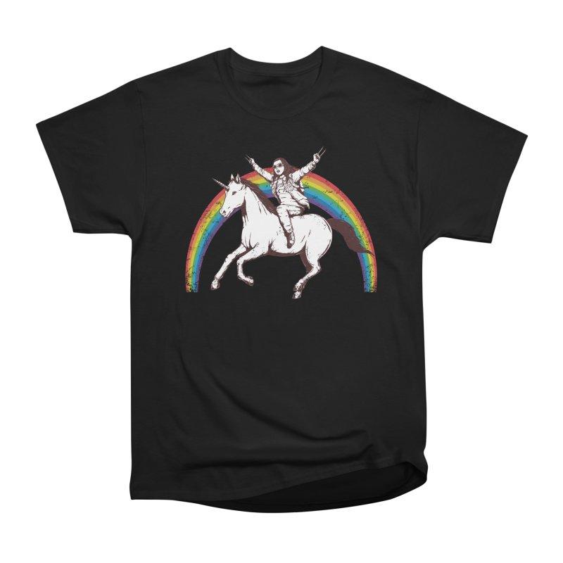 X-treme Unicorn Ride Men's Classic T-Shirt by Pigboom's Artist Shop